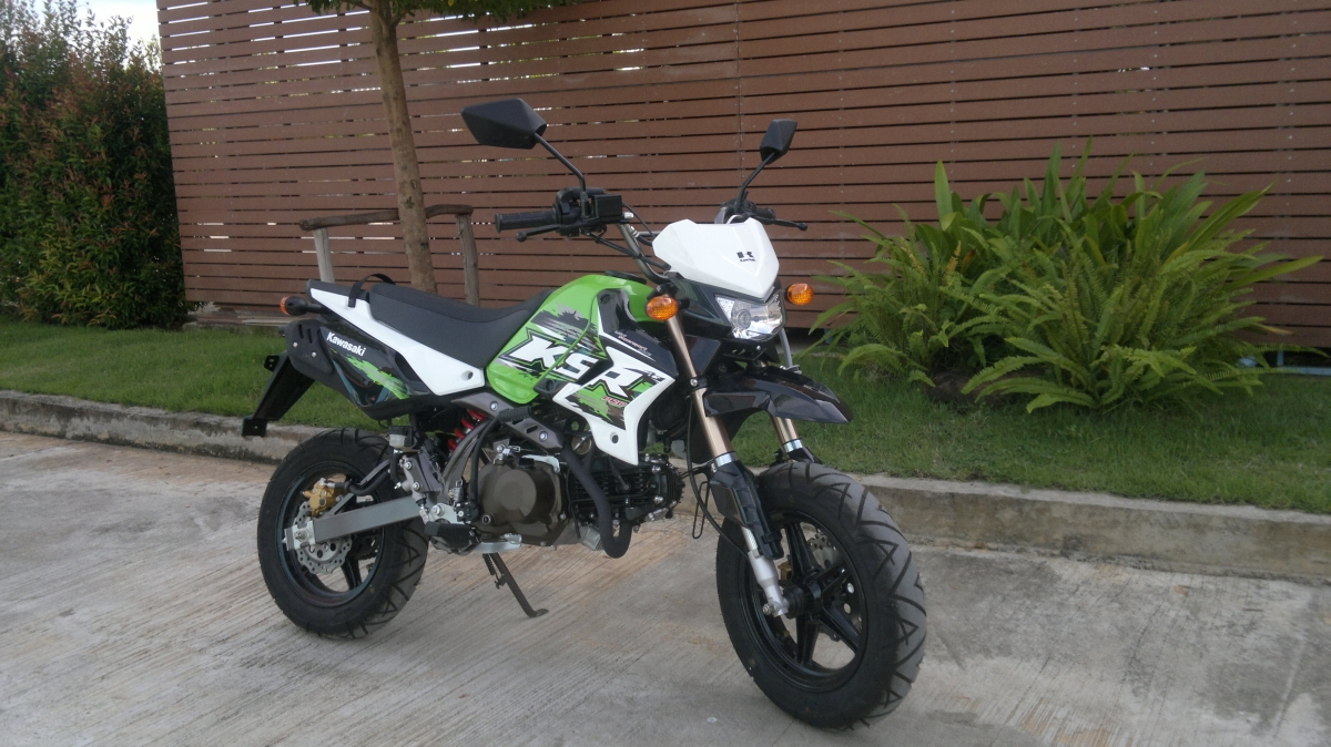 Details Specification Kawasaki Ksr 110 Pro 2013 125cc Engine Diagram